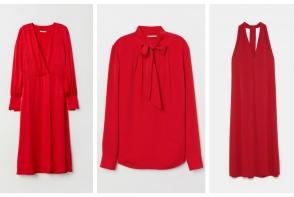 Rosu, culoarea vedeta a sezonului. Cele mai cool piese vestimentare si accesorii rosii pentru petrecerile de sezon - FOTO