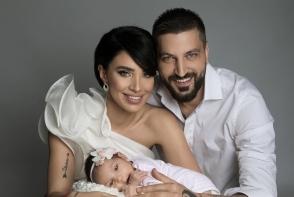 Adelina Pestritu a facut Revelionul la spital. Afla ce a patit fiica ei - FOTO
